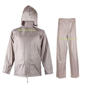 Khaki Rain Suit/ Raincoat/Rainwear for Adult pictures & photos