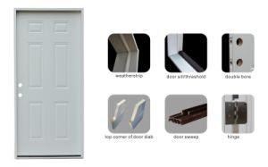Exterior Prehung Steel Door Designs pictures & photos