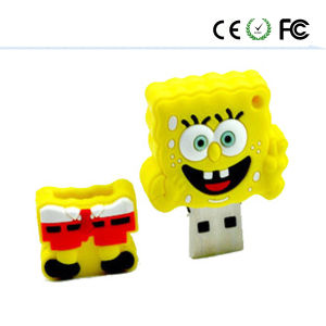 Sponge Bob Squarepants Design Cartoon USB Flash Drive pictures & photos