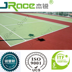 Acrylic Tennis Court Surface Coating pictures & photos