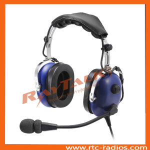 Passive Noise Cancelling Aviation Headphones pictures & photos