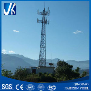 Hot-DIP Galvanized or Painted Telecom Steel Tower pictures & photos