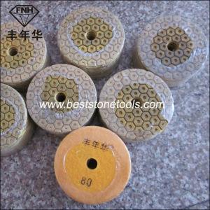 Wd-14 Hexagonal Resin Metal Diamond Pad pictures & photos