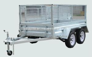 Single Axle Tandem Box Trailer pictures & photos