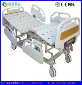 China Luxury Electric Five Function with Weight System Medical Bed pictures & photos