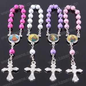 Fashion Style 6mm Crack Bead Plastic Religious Prayer Bracelet pictures & photos