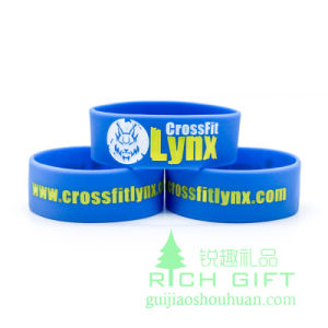 2016 Customized Silicone Bracelet for Swimming Competition pictures & photos