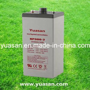 Top 2V 300ah Sealed Lead Acid Deep Cycle VRLA AGM 2V UPS Battery -Np300-2