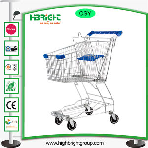 Grocery Metal Supermarket Shopping Trolley Cart pictures & photos