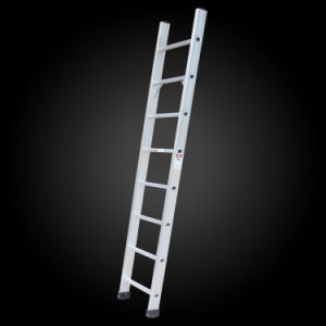 China Supplier High Quality Aluminum Straight Step Ladder pictures & photos