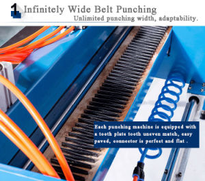 Big Size Pneumatic Punching Machine for PVC Conveyor Belt pictures & photos