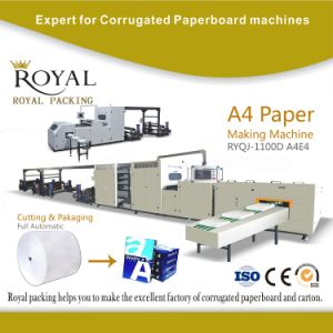 A4 Paper Cutting and Packaging Machine Line pictures & photos