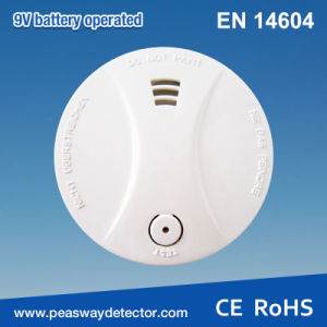 Peasway Wireless Interconnectable Smoke Alarm Smoke Detector with Silence Function (PW-507SQI)