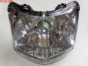 Motorcycle Parts Motorcycle Headlamp Assy for Eco100 pictures & photos