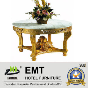 Gloden Honourable Style Carving Wooden Flower Desk (EMT-FD04) pictures & photos