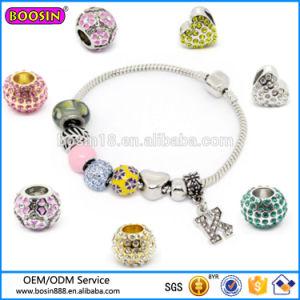 Custom Fashion Jewelry Rhinestone Charm, Bead Charm Bracelet Wholesale pictures & photos