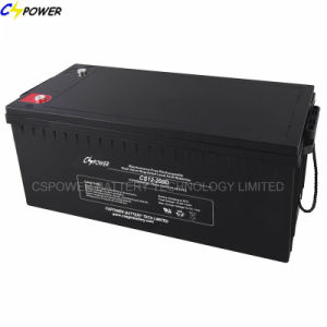 12V180ah Solar Deep Cycle UPS Battery Storage VRLA Battery CS12-180d pictures & photos