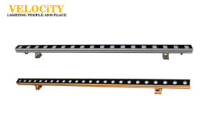 Single Color DC 24V Linear Light LED Wall Washer Light with DMX