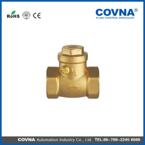 "1 1/2"" Covna Brass Swing Check Valve for Water"