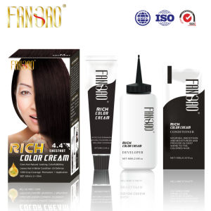 2016 Permanent Shiny Healthy Rich Hair Color with Chestnut 4.4
