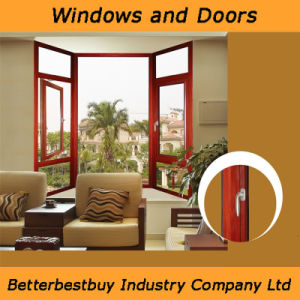 Casement Aluminum Window Used in Cold Weather pictures & photos