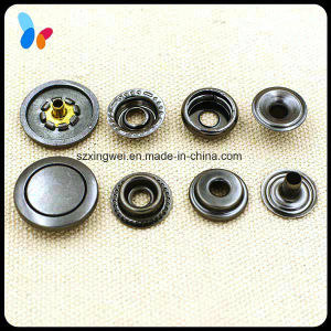 Alloy Metal Press Snap Fastener Jeans Snap Button pictures & photos