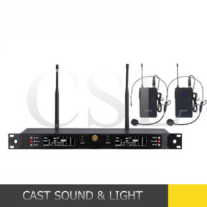 Professional VHF Wireless Microphone System Karaoke (CSL-U79) pictures & photos