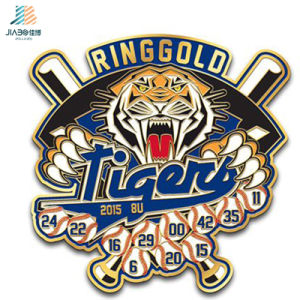 2017 Customize Zinc Alloy Diamond West Team Sports Badge Pins pictures & photos