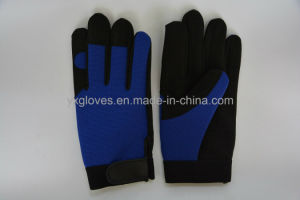 Labor Glove- Working Glove- Safety Glove-Synthetic Leather Glove-Working Glove pictures & photos