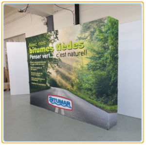 Aluminum Pop up Stand Tension Textile Pop up Display Stand pictures & photos
