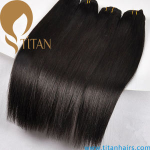 Brazilian Hair Weave Remy Human Hair Weft pictures & photos
