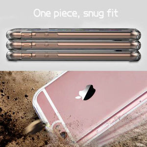 Combo TPU PC Transparent Soft Case for iPhone 6 Plus pictures & photos
