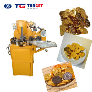 Coin Chocolate Wrapping Machine pictures & photos