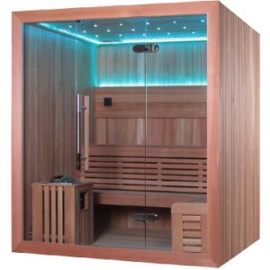 Monalisa Weight Loss Sexy Two Step LED Sauna Room (M-6044) pictures & photos