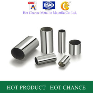 SUS 304 Stainless Steel Welded Pipe pictures & photos
