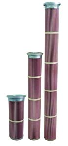 High Temperature PPS and Nomex Media Pleated Air Filter Cartridge pictures & photos