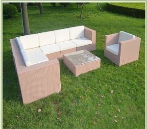PE Rattan Sofa Set Outdoor Sofa Garden Furniture pictures & photos