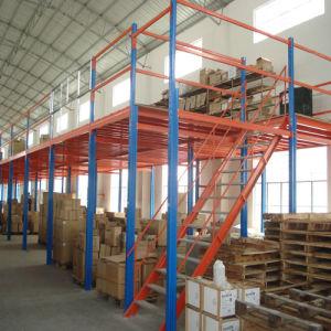 Mezzanine Floor Steel Rack for Warehouse Mezzanine Floor pictures & photos
