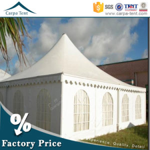 8m X 8m Cone Shaped Opaque PVC Large Pagoda Tents with Window Walls pictures & photos