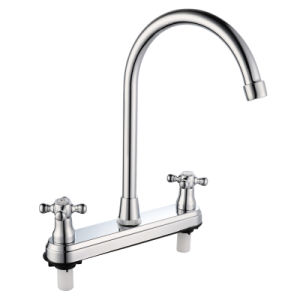 ABS Tap Mixer with Chrome Finish pictures & photos