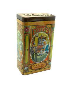 High Grade Metal Coffee Tin Can Coffee Tin Box