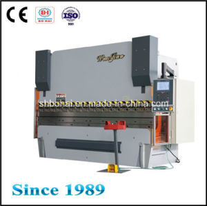Psk 80t/3200mm, CNC Hydraulic Press Brake, Electro-Hydraulic Servo Press Brake pictures & photos