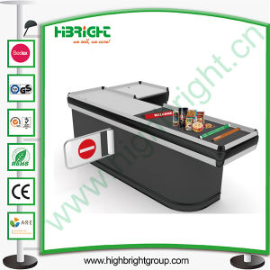 Electronic Automatic Checkout Counter with Belt pictures & photos