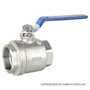 Stainless Steel Ball Valve Without Lever Handle pictures & photos