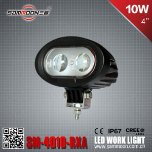 4 Inch 10W LED Car Driving Work Light for Fork Truck with Bule Light (Sm-4010-Rxa)