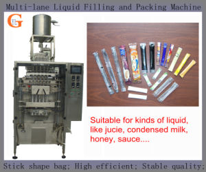 Condensed Milk Packaging Machine (multi lanes; stick shape;) pictures & photos