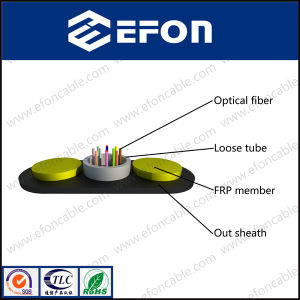 Dielectric FRP Strength Member 2-24 Core Communications Fiber Optic Cable pictures & photos