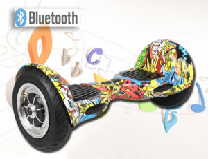 10 Inch Colourful Two Wheel Self Balancing Electric Scooter