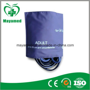 My-C030 Adult Single Tube Bladerless NIBP Cuff, TPU Reusable NIBP Cuff pictures & photos