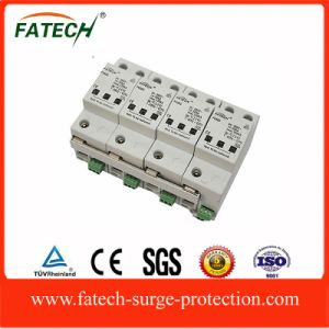 chinese exporters OEM 3+NPE 100KA ac transient voltage surge suppressor surge protective device with CE pictures & photos